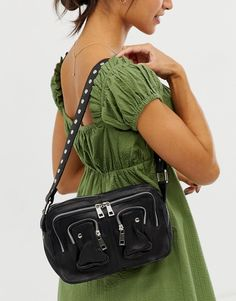 · Out of stock · Nunoo Ellie Leather Shoulder Bag in Black at ASOS. Shop this season's must haves with multiple delivery and return options (Ts&Cs apply). Fashion Bags, Fashion Beauty, Fashion Outfits, Types Of Handbags, Boho Inspiration, Cute Bags, Black Handbags, Leather Shoulder Bag, Asos Shop