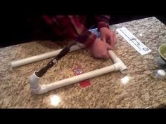 DIY - $10 Ice fishing slammer - Tutorial - YouTube