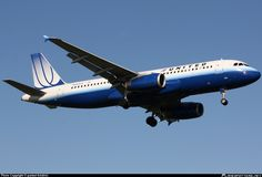 N482UA United Airlines Airbus A320-200