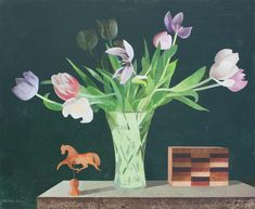 Catto Gallery | Available artwork  | Birthday Tulips
