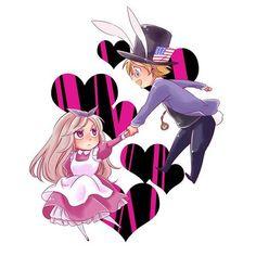 America x Belarus (Hetalia) Photo: ♥ AmeBel ♥