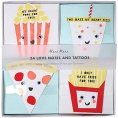 meri meri valentine stickers