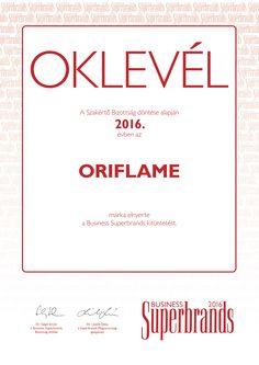 Business Superbrands díjas az Oriflame   Oriflame blog Thankful For Us, Always Smile, We Remember, Tough Times, Water Slides, Business, Trust, Blog, Life