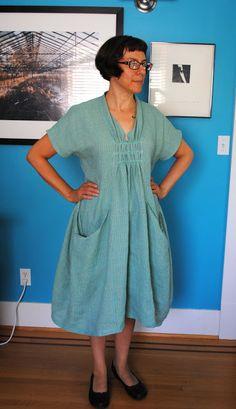 Craftprettysweet 's version of Marcy Tilton Vogue pattern 8813