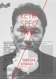 TAKESHI KITANO RETROSPECTIVE on Editorial Design Served