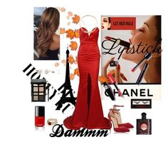 """""""Pretttty woman💋"""" by eliyanakubelis on Polyvore featuring beauty, Chanel, Urban Decay, Christian Louboutin, Bobbi Brown Cosmetics and Yves Saint Laurent"""
