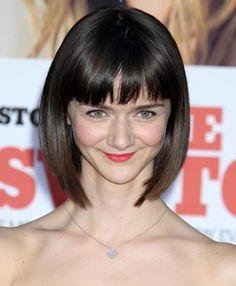 Alexandra Ella Short Straight Hairstyles