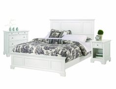 Home Styles 5530 6014 Naples Bed Frame With Night Stand And Chest, King,