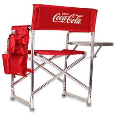 Coca-Cola Coke Folding Sports Chair Red Review Buy Now