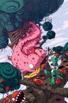 16 melhores Ilustrações de Jonatan Cantero | Criatives | Blog Design, Inspirações, Tutoriais, Web Design