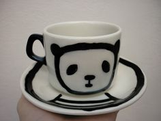 Taza panda - Panda Mug, via Flickr.