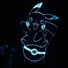 Pikachu 3D Lamp