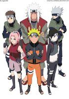 Team 7 and Jiraya <3 (Captain Yamato, Kakashi Sensei, Sakura, Naruto and Sai) + Sasuke ..