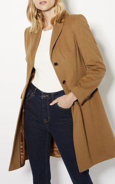 Karen Millen, Manteau boutonné camel Camel