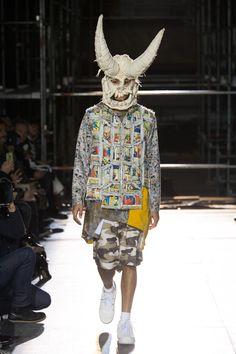 Comme des Garçons Homme Plus Fall 2018 Menswear Fashion Show Collection
