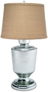 mercury glass lamp $410