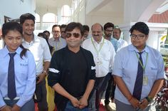 Rajpal Yadav Visiting Tula's International Boarding School in Dehradun,uttarakhand.TOp class boarding school  with very minimum fees. Fees is very reliable for Parents. You can contact to tula's at any time for any query regarding admission in Residential school.