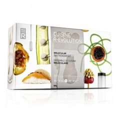 CUISINE R-EVOLUTION  Molecule-R's DIY molecular gastronomy kit lets you emulsify, spherify, and gelify to your heart's content—at least until the next culinary trend takes hold