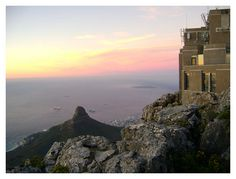 Lion's Head, Robben Island, Table Mountain Cable Station by pretty pixels - by Chez Pool, via Flickr