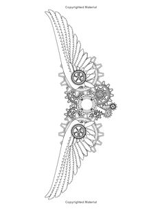 clock design ideas 463307880396957200 - coloriage Source by catherinekoupal Steampunk Drawing, Steampunk Tattoo, Steampunk Wings Tattoo, Tattoos, Tattoos For Guys, Tattoo Pattern, Wings Tattoo, Color, Tattoo Designs