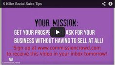 We have a brand new sales 'hack' [video] for you AND also a video that will show you how to become a 'social sales' SUPERSTAR in 5 easy steps! Sales Agent, Sales Tips, Hacks Videos, Superstar, You Got This, Connection, How To Become, Self, Easy