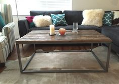 Shop For Modern Living Room Furniture Unique Hand Crafted Industrial Coffee Cocktail Table And Side Perfect Loft Style