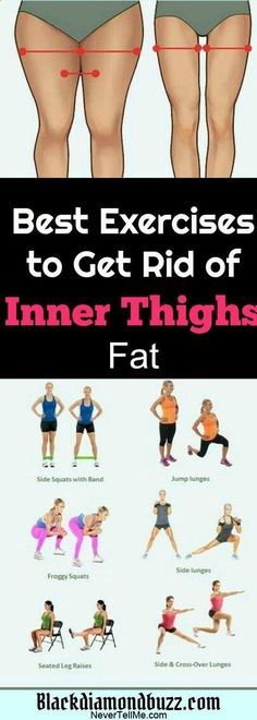8 Exercise That Will Burn Inner Thigh Fat, These exercises will help you to get rid fat below body and burn the upper and inner thigh fat Fast. # Fitness motivation 8 Exercise That Will Burn Inner Thigh Fat Fitness Workouts, Fitness Motivation, Sport Fitness, Yoga Fitness, At Home Workouts, Health Fitness, Fitness Plan, Fitness Diet, Cardio Gym
