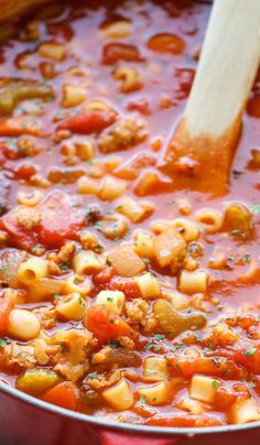 Pasta e Fagioli - Love this soup...awesomeness!