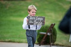 This little guy did great job at capturing every ones attention!    #RingBearer #TheKnot #Nashvillewedding #Wedding #Nashville #DetailsNashville