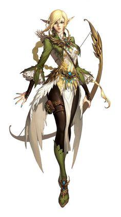 Manga Elf Girl