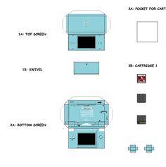 papercraft templates - Google Search