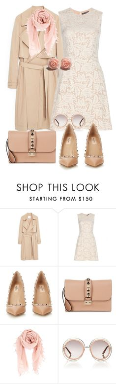 """""""Untitled #536"""" by aniri310 on Polyvore featuring MANGO, Alexander McQueen, Valentino, Chan Luu, Chloé, women's clothing, women, female, woman and misses"""