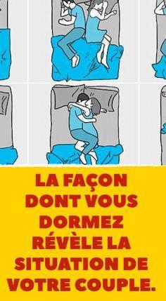 La façon dont vous dormez révèle la situation de votre couple.