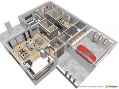 Projekt domu HomeKoncept-31 142,19 m2 - koszt budowy - EXTRADOM Villa Design, House Design, Best Home Plans, Custom Built Homes, Planer, House Plans, How To Plan, Building, Home Decor
