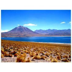 Volcán Lascar - Chile de fondo