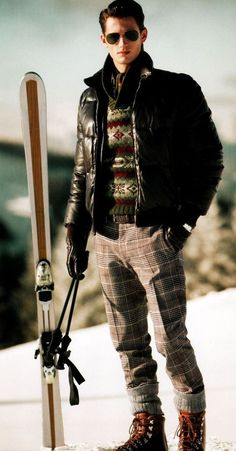 The Skiing Look Book