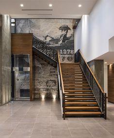 LEMAYMICHAUD | Marriott | Calgary | Architecture | Design | Hospitality | Hotel | Country | Cowboy | Concrete | Wood Calgary, Architecture Design, Concrete Wood, Hospitality, Country, Home Decor, Store, Architecture Layout, Decoration Home