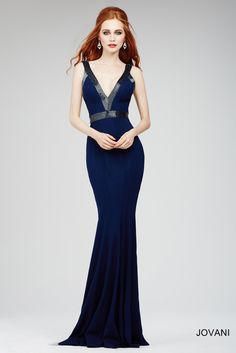 Jersey Sleeveless Gown 28718