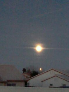 Moon over las vegas ©rachel hartwig