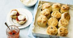 Nothing tastes better than our fresh scones, with the added flavour of ground cloves, served with a dollop of jam and cream.