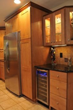 wine cooler for kitchen