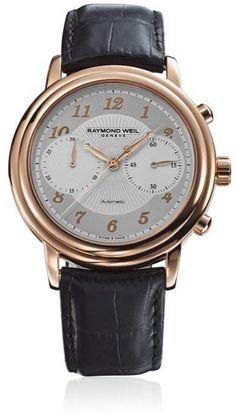Raymond Weil Maestro Chronograph Men's Watch 4830-PC5-05658 | watchtag.com