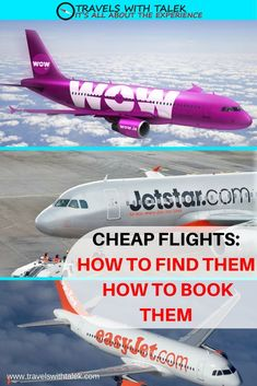 Talek takes you on a guide to help you find the best flight deals.  #flights #deals #travel