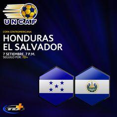 Transmisión en vivo por TD+ de la COPA CENTROMERICANA desde  Washington D.C., del juego entre Honduras y El Salvador. Vealo por TD+ Canal 15 de #Cabletica y www.teletica.com