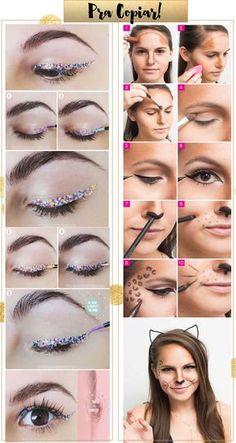 Maquiagem para Carnaval: Muito Glitter, Cor e Brilho!