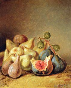 Johann Heinrich Wilhelm Tischbein - Fruit Still Life