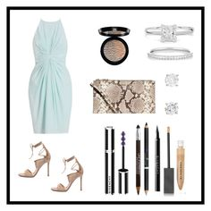 """""""Tonight Belongs to U"""" by krizec ❤ liked on Polyvore featuring Zimmermann, Givenchy, Maybelline, Giorgio Armani, Burberry, Ileana Makri, Gianvito Rossi and MICHAEL Michael Kors"""