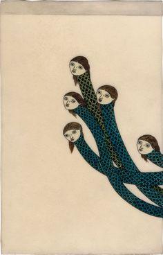 "richard colman / ""Some Snakes"" / 2005"