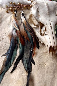 feather earring | Tumblr
