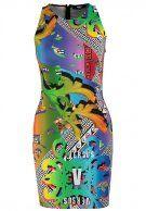 Versus Versace - ABITO - Vestido de algodón - multicolor
